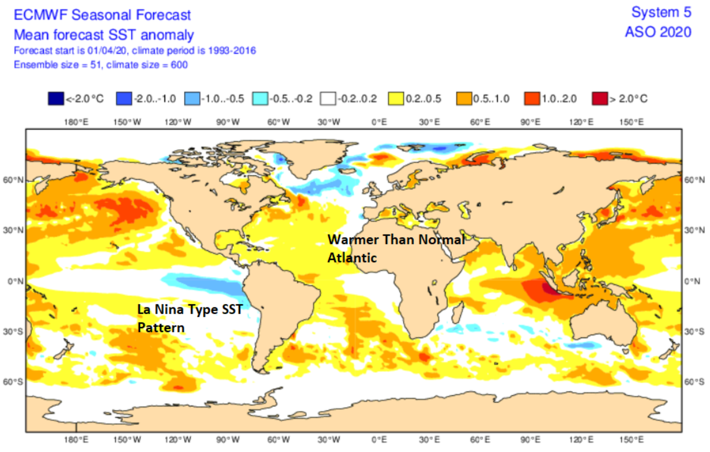 ECMWF SST Forecast